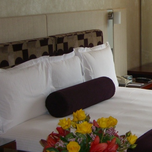 Intercontinental Hotel Pillows