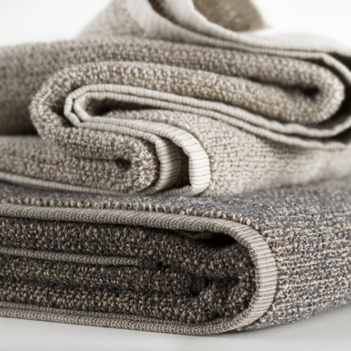 Hotel Luxury Collection Light Textured Tweed Bath Mats