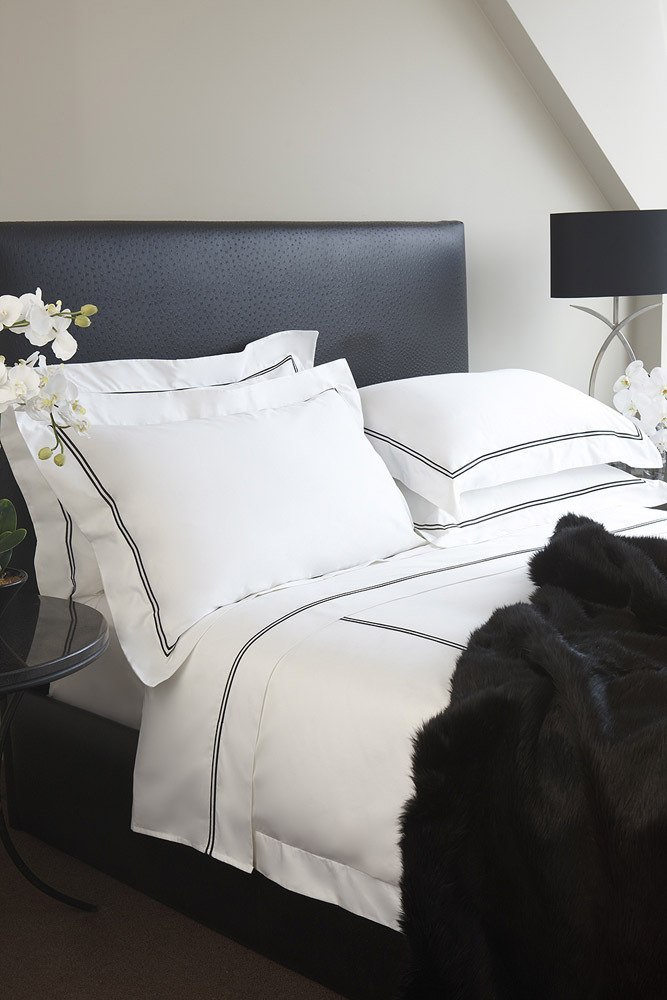Hotel Luxury Collection - 'Black Diamond Mink' Faux Fur Throw