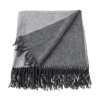Two 20tone 20wool 20and 20cashmere 20throws