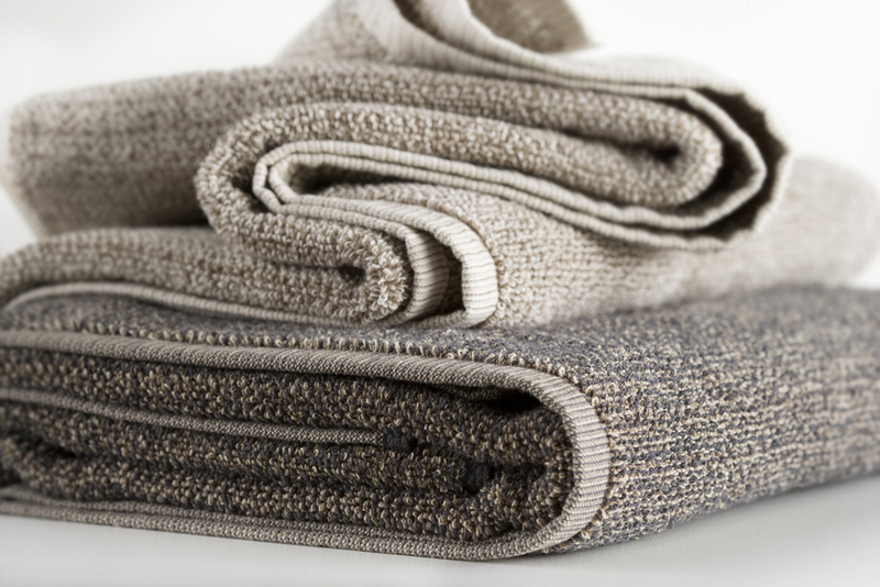 Hotel Luxury Collection Light Textured Tweed Bath Towels