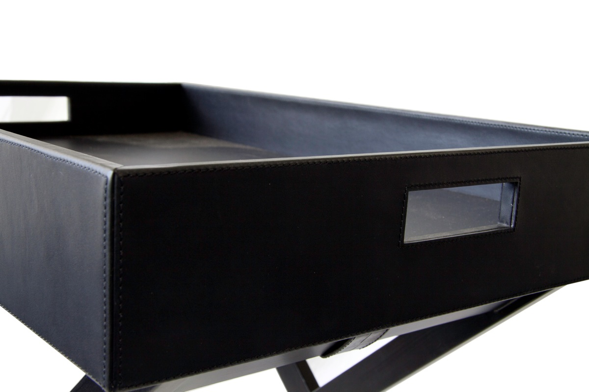 31e987d2c7 Hotel Luxury Collection - Leather Butlers Tray Table