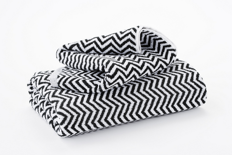 Hotel Luxury Collection Black And White Herringbone