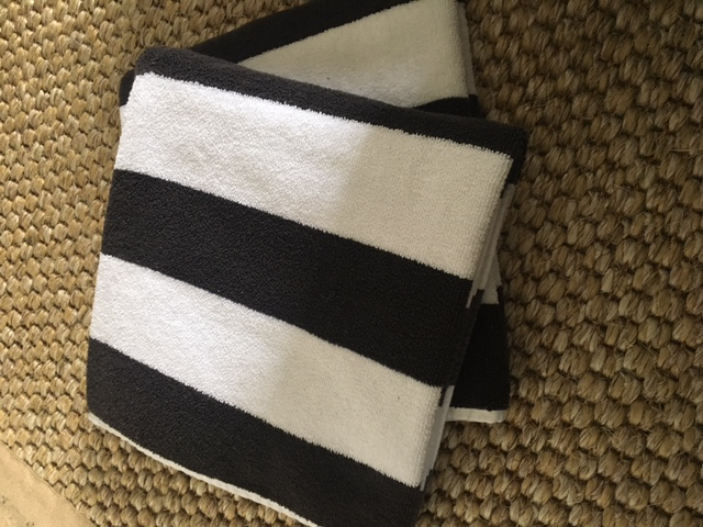 Hotel Luxury Collection Bold Striped Pool Towels