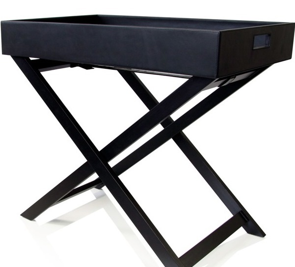Hotel Luxury Collection Leather Butlers Tray Table